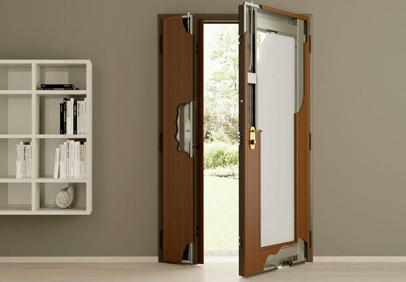 Металлическая дверь с установкой