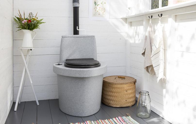 Загородный туалет