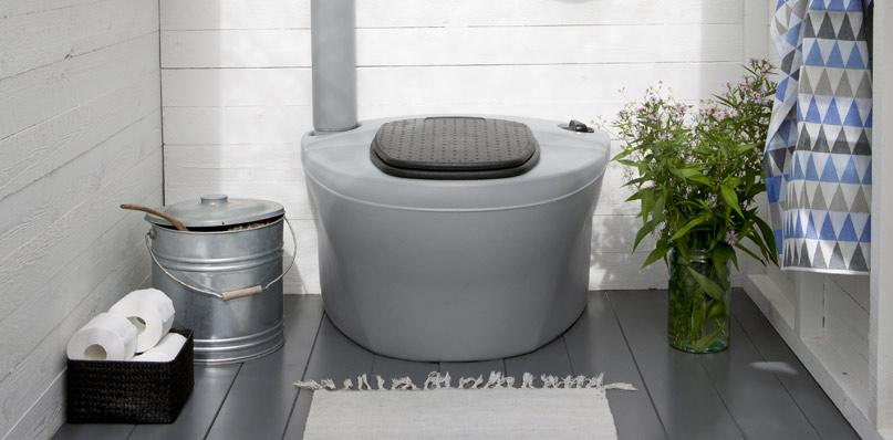 Дачный торфяной туалет