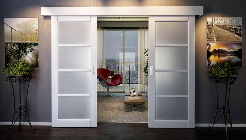 Межкомнатная дверь в интерьере
