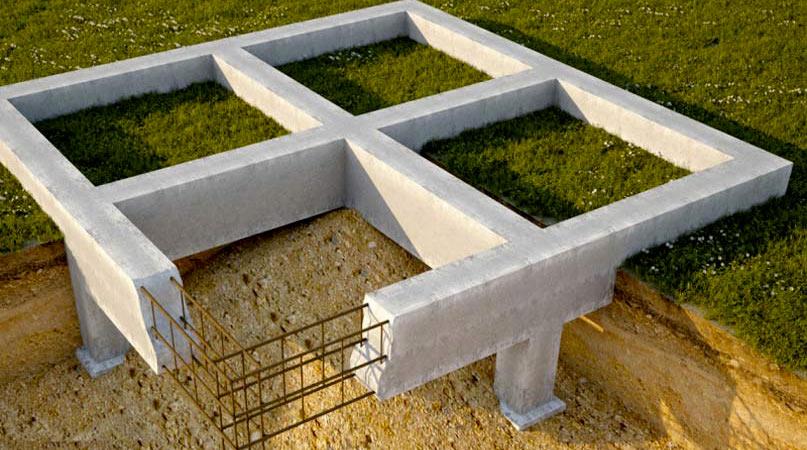Фундамент дома из бруса
