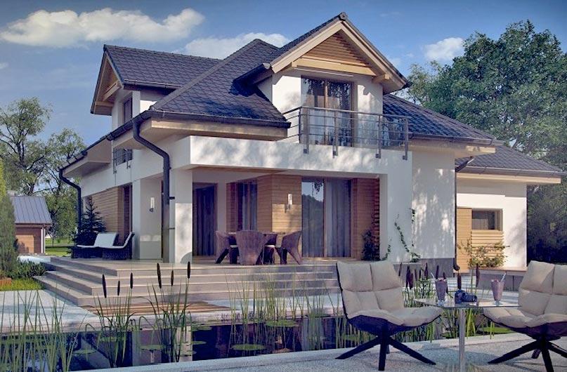 Бетонный дом