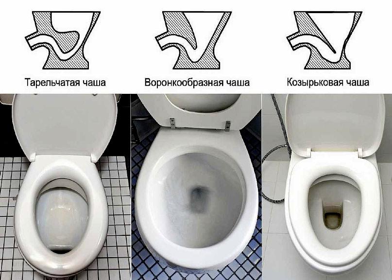 Схема устройства чаши