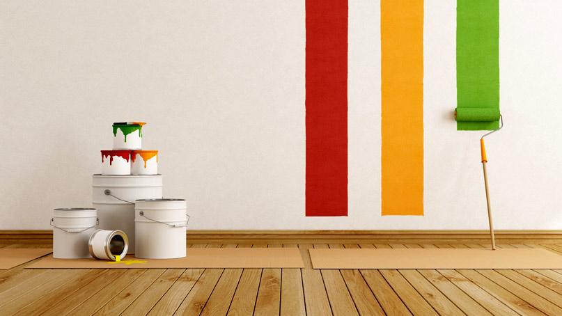 Водоэмульсионные краски для стен