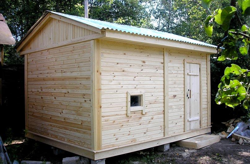 Маленькая баня на даче своими руками проекты