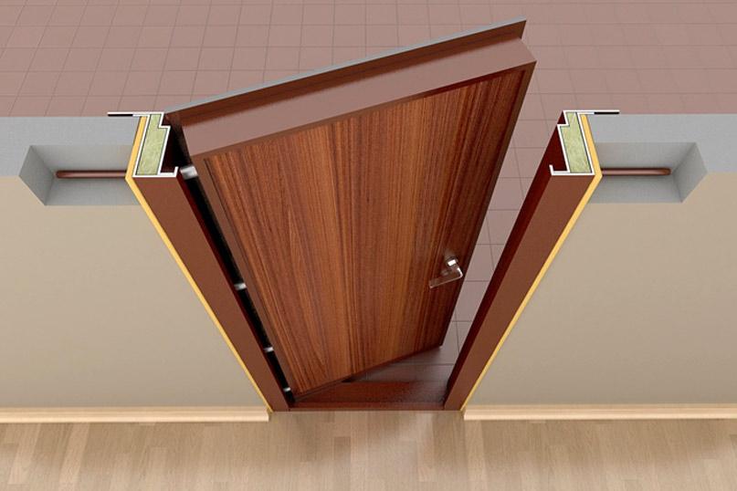 Дверная коробка монтаж