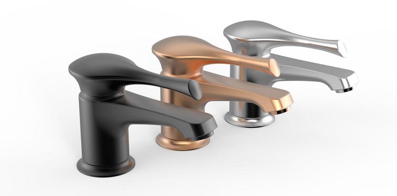 Дизайн смесителей Росинка