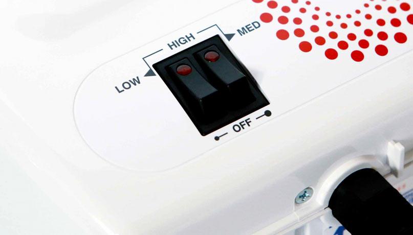 Кнопки регулировки температуры