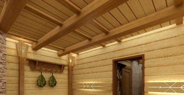 Потолок для бани