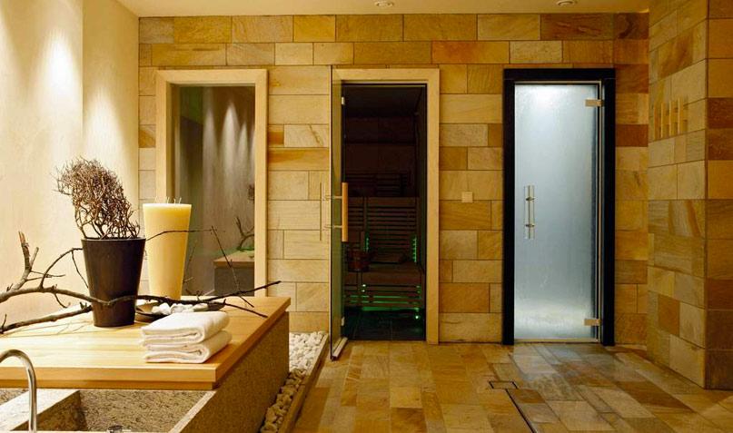 Керамическая плитка в бане