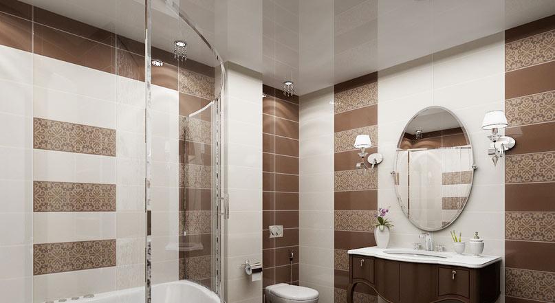 Потолок для ванной комнаты