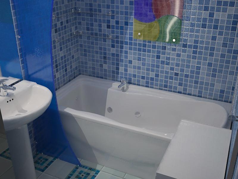 Решение для маленькой ванной