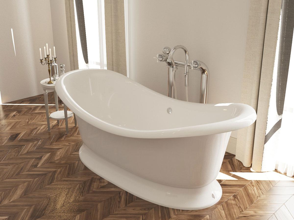 ванна в интерьере