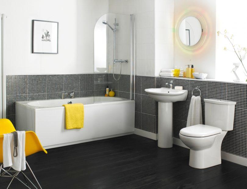 Целесообразность плинтуса в ванной