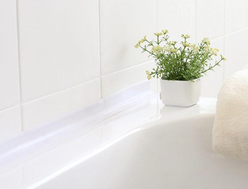 плинтус в ванную из керамики