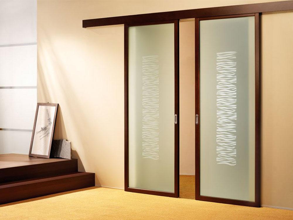 Двери в ванную раздвижные