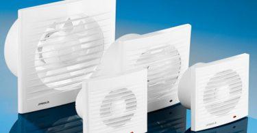 Модельный ряд вентиляторов