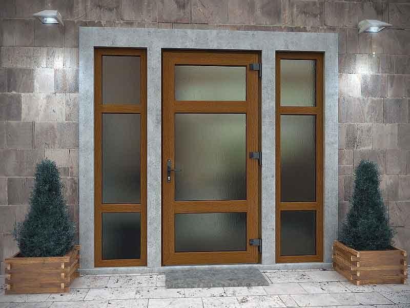 Внешний вид входных дверей