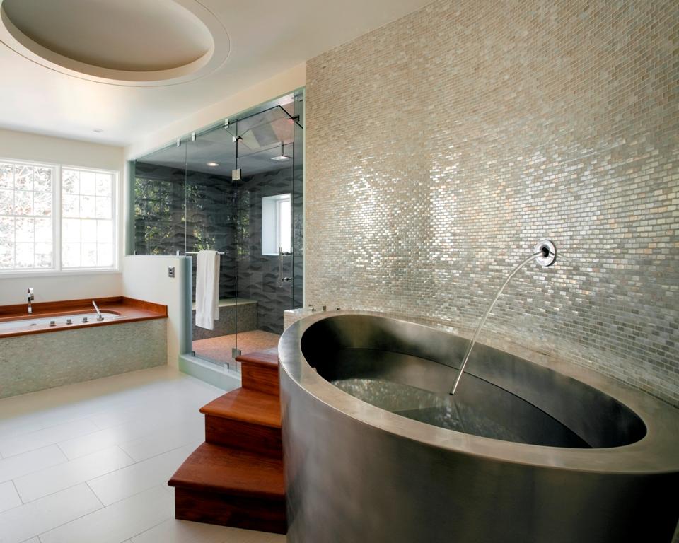 Ванна из стали и форма