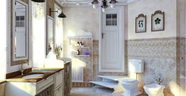 ванная прованс