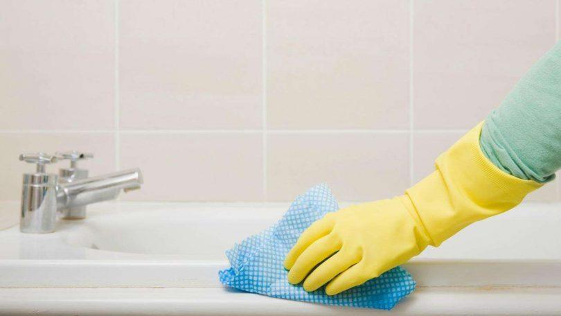 Как отбелить ванную