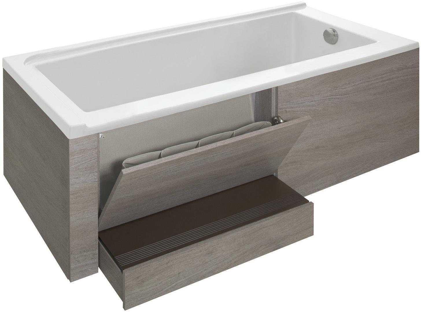 ванна с ящиком