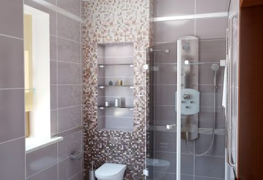 открытый душ