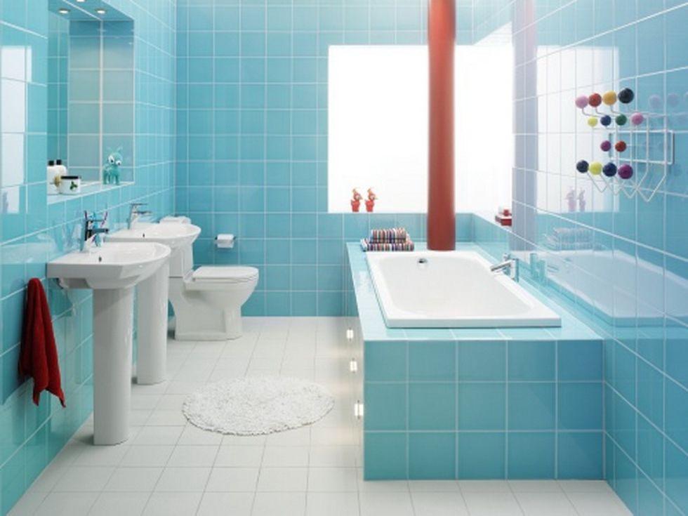 Ванная в кафеле