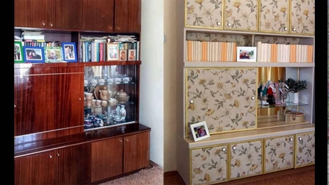 Советская мебель до и после переделки. поверить не могу, что.