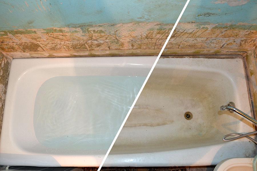 Как своими руками восстановить ванну 2