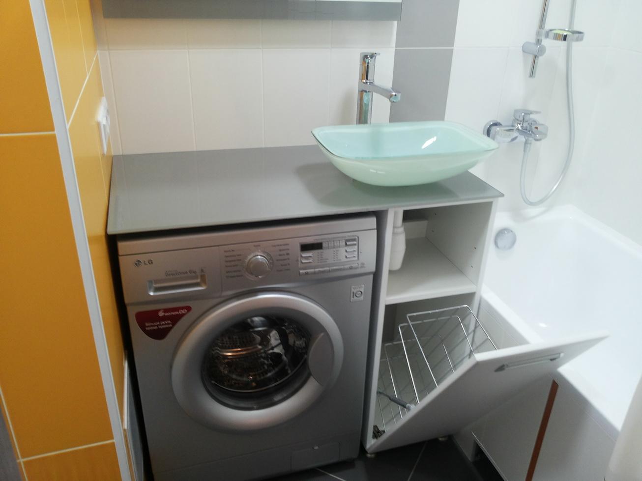 Стол под стиральную машину своими руками